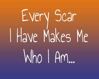 scars make for a good blog post