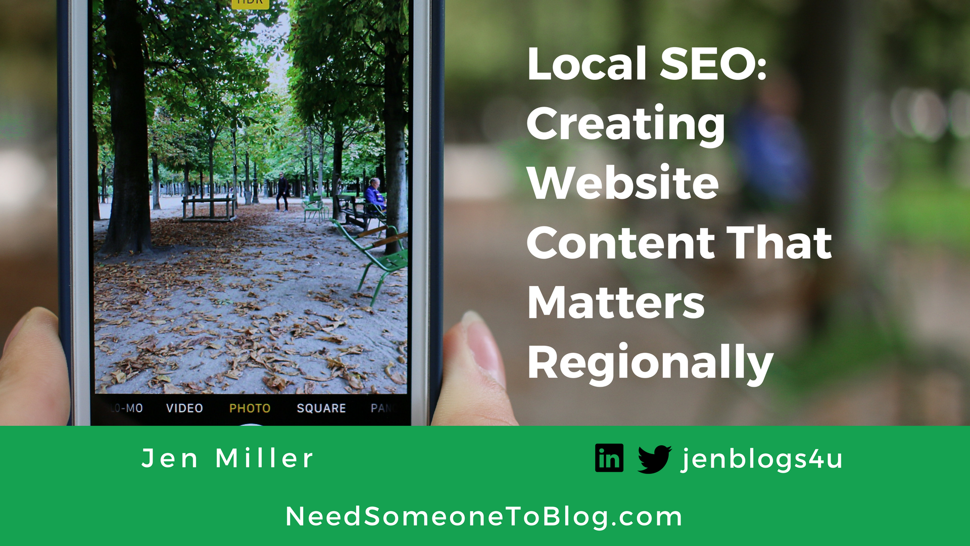 Local SEO _ Creating Website Content That Matters Regionally by Jen Miller