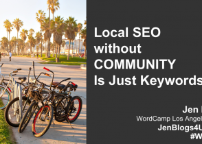 Local SEO without Community Is Just Keywords | WCLAX